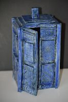 Tardis Ceramic Piece 4 by susara86