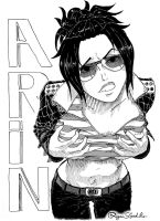AWESOME CHARACTERS - ARIN by Ryan5Gediche