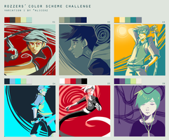 Color Scheme challenge by Yobot