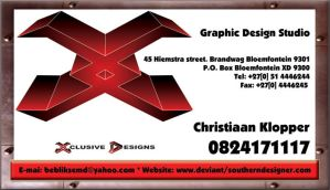 Xlusive Designs - BusinessCard by SouthernDesigner