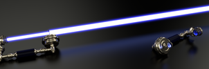 Phone-Home LightSaber - For my fox ETH-RaAaK :) by Etrelley
