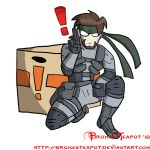 Solid Snake by BrokenTeapot