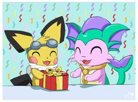 Hope You Like Your Gift by pichu90