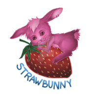 Strawbunny by ThePillowGrabber