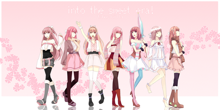 Into the Sweet Era! by cakerolls