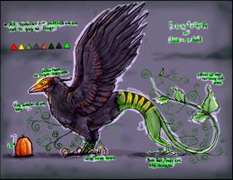 Patch Trifith ref sheet by Anarchpeace