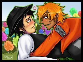 Once-Ler x Lorax by StrawberrySoulReaper