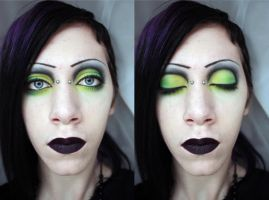 Electric Olive - Makeup by ungodubiquitous