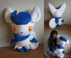 life size Meowstic (female) by MagnaStorm