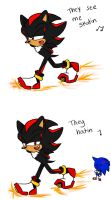 They see him... by DanielasDoodles