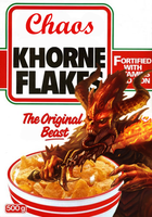 KHORNE Flakes by Knyghtos