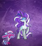 Nightmare Rarity embroidered patch by angel99percent