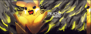 Pikachu smudge by Finer-Gaby