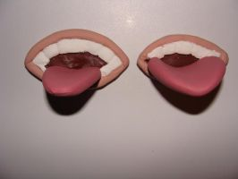 New Deidara Mouths by kikyo4ever