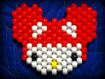 Deadmau5 Hello Kitty Peyote Stitch by xDrownedShadowsAtSea