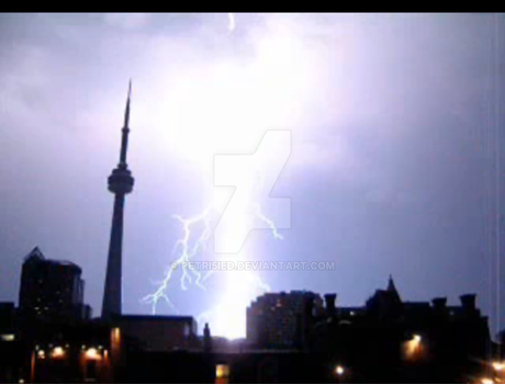 Storm in Toronto by petri5ied