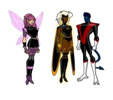 Pixie Storm and Nightcrawler by ShatteredIMJ