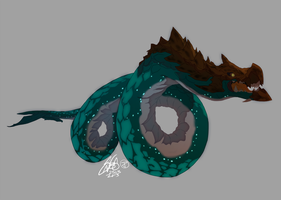 Full-body Commissions - LEVIATHAN by theSN3S