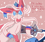 Cute Sylveon by MamaRocket