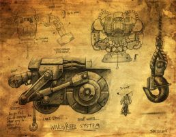 Crank - Parts... by Skihaas1