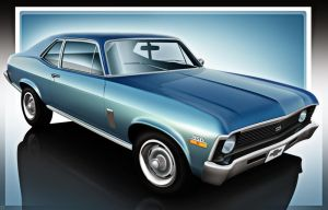 1969 Chevy Nova SS by GTStudio