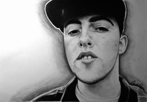 Mac Miller by ItsBRogersYo