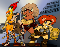 The Omega Gladiatrices by RBM-Ink