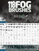 118 Fog Brushes by FackFebruary
