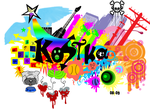 Colored Kostka by BiohazardousDouglas
