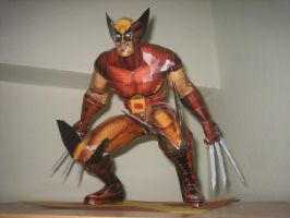 Wolverine papercraft 2 by safaksimsek