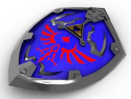 LoZ: Hylian Shield - Basic by Neon2005