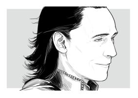 Loki - Tom Hiddleston by uger