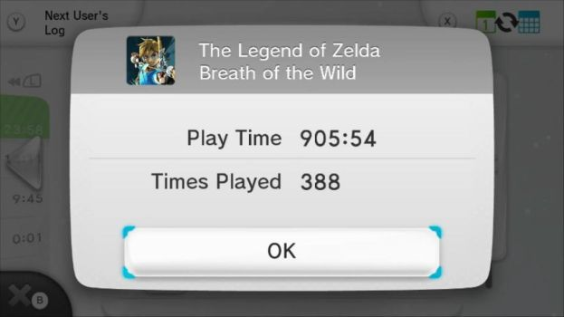 BotW 900+ Hours Playtime by ultimate-litten