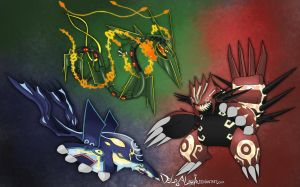 WEATHER TRIO - spooky pokemon by delgalessio