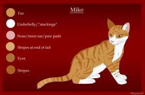 Miko ref -for Sterling- by Phoenix67