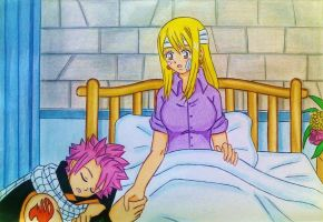NaLu: I'm watching over you.... by dagga19