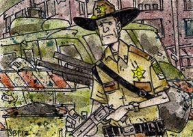 Rick Grimes by SpencerPlatt