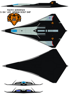 Pacific Aerospace S-104 Leo medium scout ship by bagera3005
