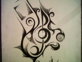Tattoo Design by x2hoodx