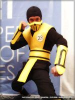 scorpion of mortal kombat 3 by karlonne