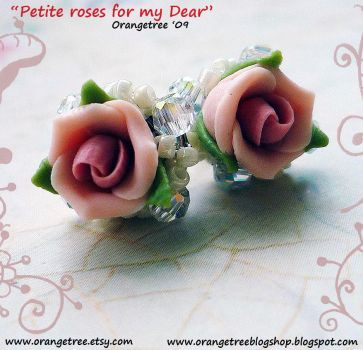 Petite roses for my Dear by littleorangetree