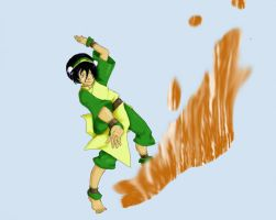 Toph For Sarah by psychmeout