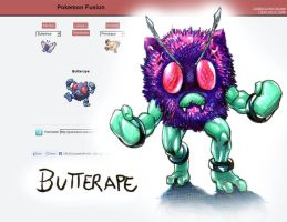 Pokemon fusion- Butterape