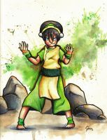 Toph by Jaylynessa