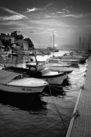 Harbor - Croatia - Malinska by rejmann