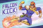 FALCON KICK! by marcotte