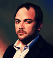 2011 Mark Sheppard by harbek