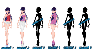 Shandy Casual Sets S1- S6 by WinxFandom