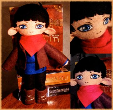 Merlin plushie by nella-fantasiaa