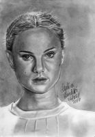 Padme Amidala Graphite by AngelinaBenedetti